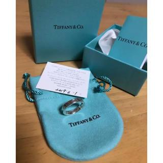 ティファニー(Tiffany & Co.)のティファニー サファイア リング 13号(リング(指輪))