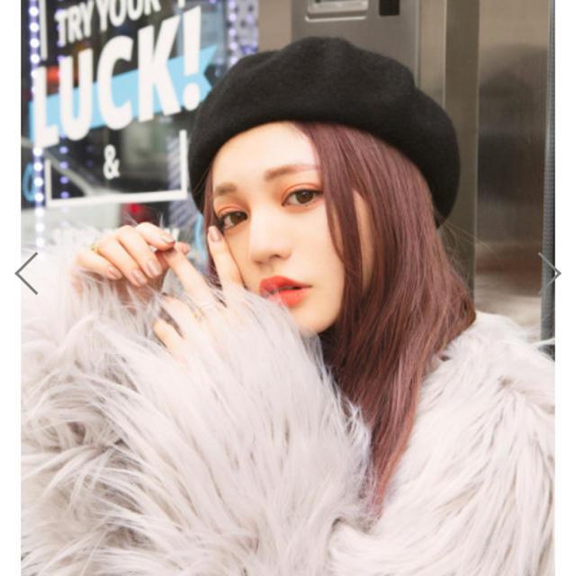 GRL(グレイル)のちょこ様専用!! レディースの帽子(ハンチング/ベレー帽)の商品写真