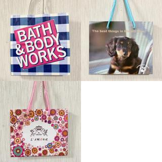 バスアンドボディーワークス(Bath & Body Works)の紙袋 ミニサイズ 3点(ショップ袋)