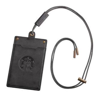 スターバックスコーヒー(Starbucks Coffee)の台湾 スタバ パスケース チャコールグレー(パスケース/IDカードホルダー)