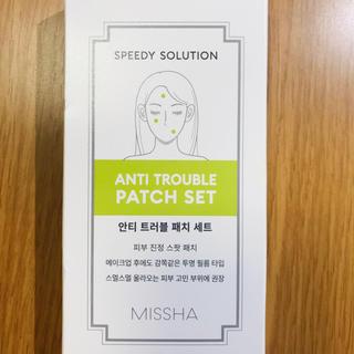 ミシャ(MISSHA)の【韓国製】ニキビパッチ(その他)