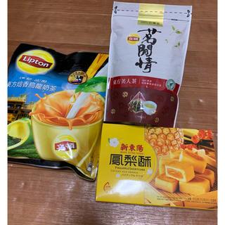 ユニリーバ(Unilever)の❤️台湾限定紅茶MIX &台湾茶&パイナップルケーキ★3点セット❤️プロフ必読(茶)