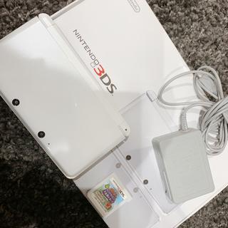 ニンテンドー3DS(ニンテンドー3DS)の3DS white(家庭用ゲームソフト)