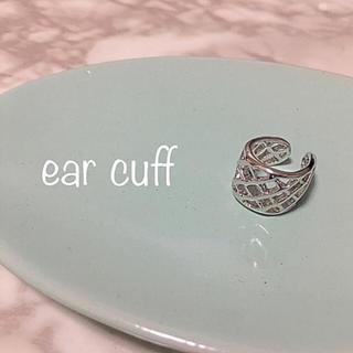 ドゥーズィエムクラス(DEUXIEME CLASSE)のear cuff import  #12  silver(イヤーカフ)
