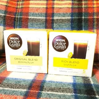 ネスレ(Nestle)のネスカフェドルチェグスト2箱(コーヒー)
