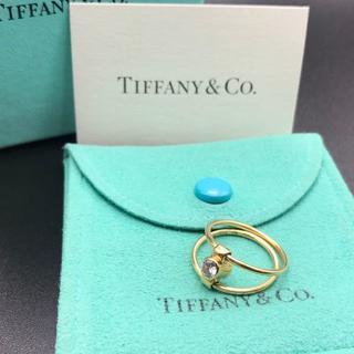 ティファニー(Tiffany & Co.)の極希少 ティファニー ダイヤ ルビー リバーシブル リング AZ29(リング(指輪))