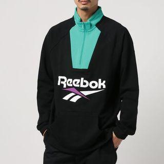リーボック(Reebok)のReebok★極美品★ CL ベクター 1/4 ジップ スウェット(スウェット)