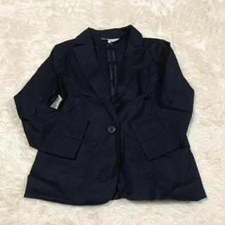 ナチュラルビューティーベーシック(NATURAL BEAUTY BASIC)の春物 ジャケット ネイビー(テーラードジャケット)