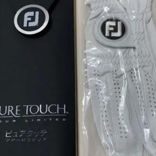 FootJoy - フットジョイ ピュアタッチ2枚組25センチ