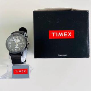 TIMEX PEANUTS スヌーピー weekender ブラック