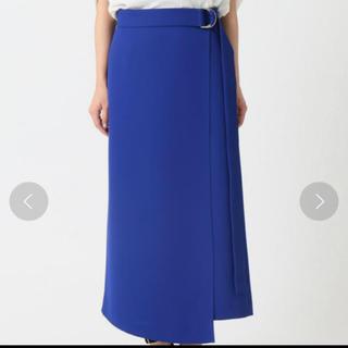 ノーブル(Noble)のノーブル スカート ブルー(ひざ丈スカート)