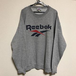 リーボック(Reebok)の90s 古着 リーボック ビッグロゴ スウェット USA製 (スウェット)