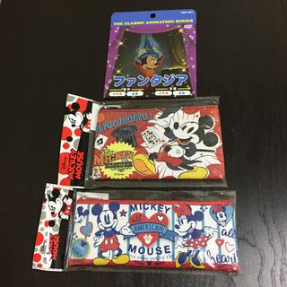 ミッキーマウス(ミッキーマウス)のディズニー ランド ミッキーマウス グッズ まとめ売り セット dvd ポーチ(ポーチ)