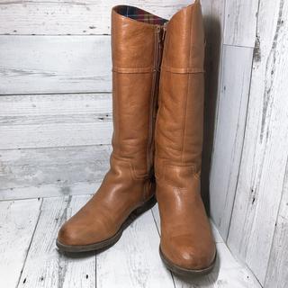クラークス(Clarks)の【格安‼️売り切り‼️】Clarks ロングブーツ 23.5cm 茶色(ブーツ)