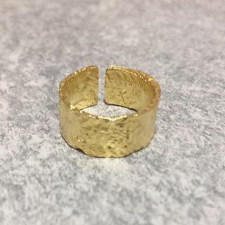 silver925 k18コーティング リング ajiro(リング(指輪))