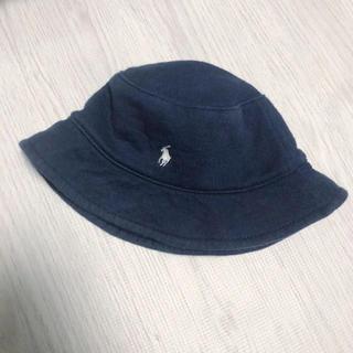 ラルフローレン(Ralph Lauren)のラルフローレン 帽子 ハット ネイビー 44cm(帽子)