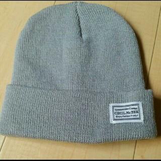 セシルマクビー(CECIL McBEE)のセシルマクビー ニット帽子(ニット帽/ビーニー)