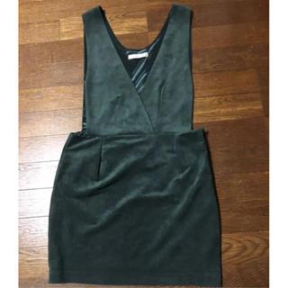カプリシューレマージュ(CAPRICIEUX LE'MAGE)の美品 ジャンパースカート(ひざ丈ワンピース)