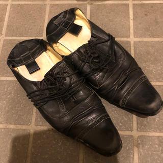 alfredoBANNISTER - アルフレッドバニスター 靴 スリッポン ブラック