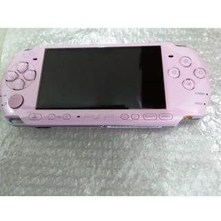 PlayStation Portable - 美品 PSP 3000 本体 ピンク プレイステーションポータブル