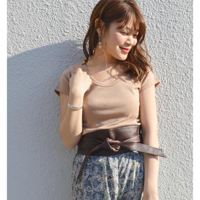 SHIPS for women(シップスフォーウィメン)のSHIPS レディースのトップス(Tシャツ(半袖/袖なし))の商品写真