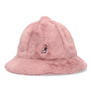 カンゴール(KANGOL)のkangol fukase ピンク Lサイズ(ハット)
