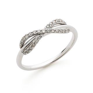 新品 未使用 K10 ホワイトゴールド ダイヤモンド 指輪 リング(リング(指輪))