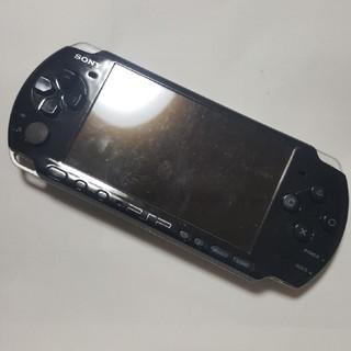 PlayStation Portable - 中古PSP3000ブラック 本体のみ