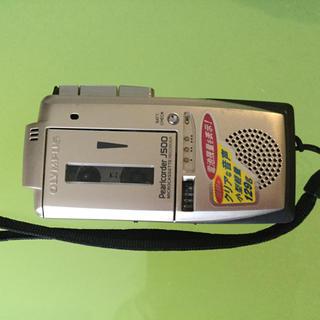 オリンパス(OLYMPUS)のOLIMPUS☆マイクロカセットテープコーダー☆J500☆美品(その他)