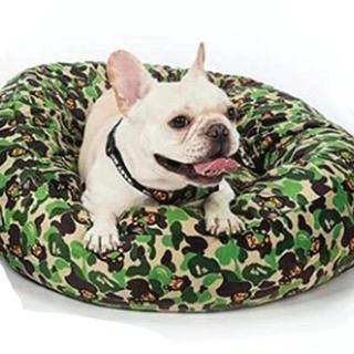 アベイシングエイプ(A BATHING APE)のBABY MILO BAPE DOG BED 犬 ベッド クッション(その他)