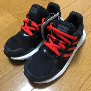 adidas - adidas(ブラック/レッド)【Jr/19.0/新品】