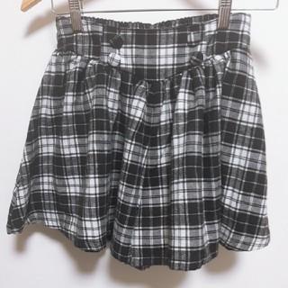 lovetoxic - 【新品】lovetoxic ラブトキシック チェックキュロットスカート L160