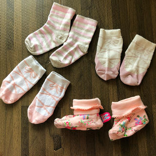 OILILY - 新生児 靴下 女の子 セット売り