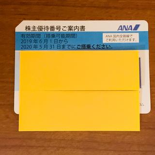 エーエヌエー(ゼンニッポンクウユ)(ANA(全日本空輸))のANA 株主優待券 1枚 2020.5.31まで(その他)