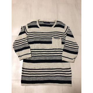 レイジブルー(RAGEBLUE)のRAGEBLUE レイジブルー  サマーニット 七分袖(ニット/セーター)