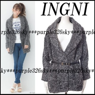 INGNI - 新品未使用INGNIイングベルト付きアウタージャケット