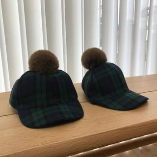 ザラキッズ(ZARA KIDS)のザラキッズ  双子コーデ  子供(帽子)