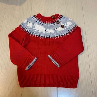 ボーデン(Boden)のイギリス発 Mini Boden 綿セーター 18-24M(Tシャツ/カットソー)