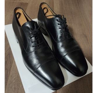 ヤンコ(YANKO)の【烏龍茶様専用】YANKO 革靴 ストレートチップ黒(ドレス/ビジネス)