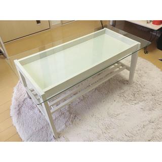 天板ガラス ローテーブル(ローテーブル)