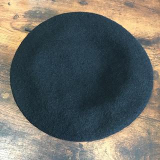 JEANASIS - JEANASIS ベレー帽 黒