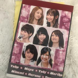 akb48シール付きメモ帳(アイドルグッズ)