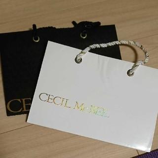 セシルマクビー(CECIL McBEE)のショップ袋(ショップ袋)
