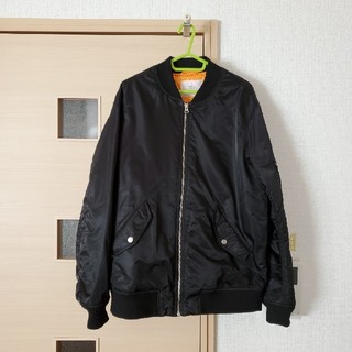 WEGO - USED WEGO 中綿コートMA-1 黒