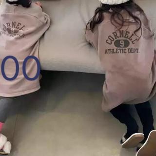 韓国子供服 韓国こども服 100 トレーナーワンピース(ワンピース)