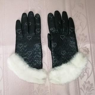 バービー(Barbie)のBarbie バービー 手袋 ファー付(手袋)