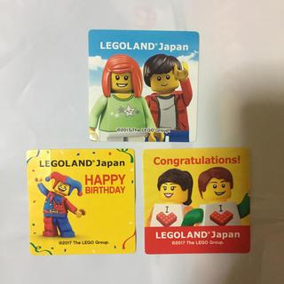レゴ(Lego)の新品 レゴランド ステッカー(遊園地/テーマパーク)