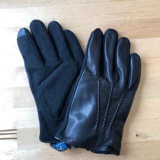 ポロラルフローレン(POLO RALPH LAUREN)の【新品タグ付き】レザーグローブ(タッチスクリーン操作対応)(手袋)