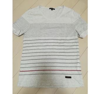 BURBERRY - メンズバーバリーボーダー半袖T シャツ最終価格sale