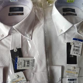 アオキ(AOKI)のノンアイロンワイシャツ2枚セット(シャツ)